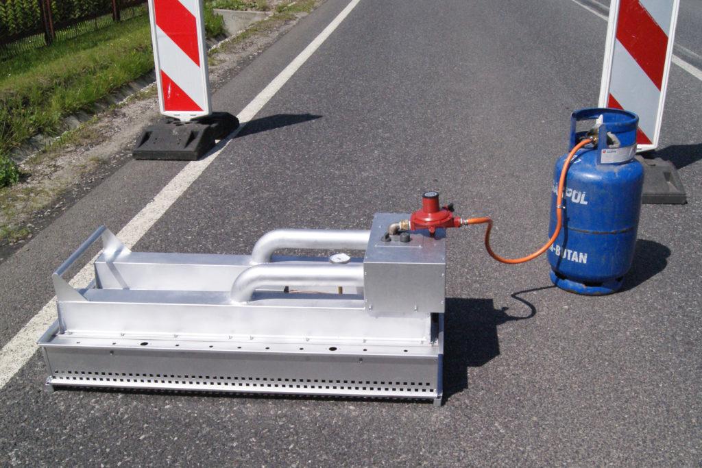 Portable Infrared Asphalt Heater
