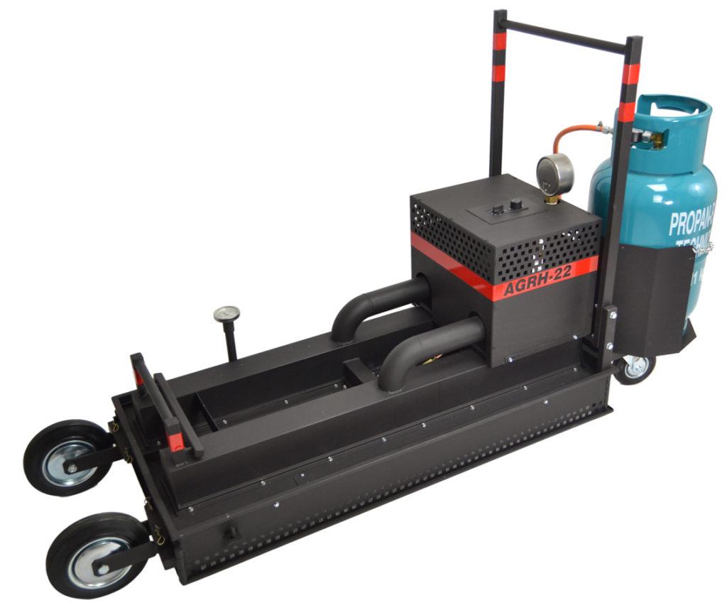 asphalt gas radiant heater