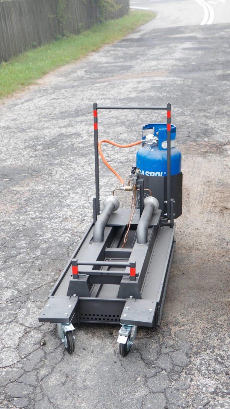Promiennik gazowy do napraw asfaltu AGRH 16